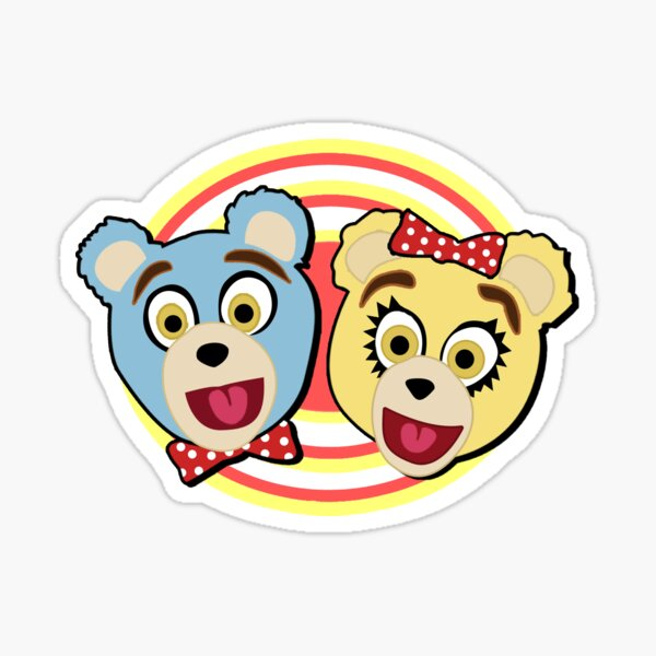 Avenue Q Bad Idea Bears Sticker