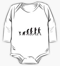 Human evolution One Piece - Long Sleeve