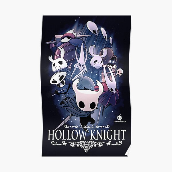 Hollow Knight - Juego independiente Póster