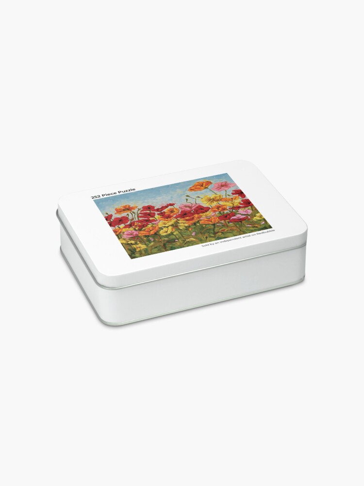Alternate view of A Garden of Colorful Poppies Jigsaw Puzzle
