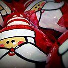 Santa Balls by paintingsheep
