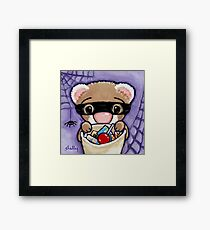 Fuzzy Bandito Framed Print