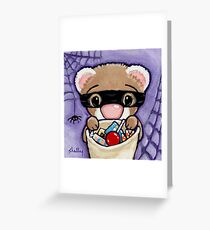 Fuzzy Bandito Greeting Card