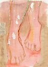 His feet by Ina Mar