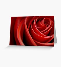 A Russian Rose in an English Garden Greeting Card