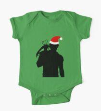 Daryl Dixon Textless Christmas Design (Dark) One Piece - Short Sleeve
