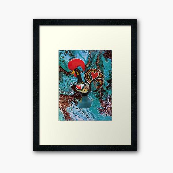 Galo de barcelos, Portugal Framed Art Print