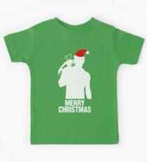 Daryl Dixon Christmas Design (Light) Kids Tee