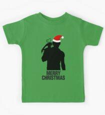 Daryl Dixon Christmas Design (Dark) Kids Tee