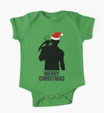 Daryl Dixon Christmas Design (Dark) Kids Clothes