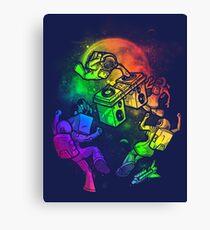 Space Disco Canvas Print