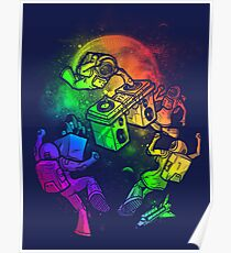 Space Disco Poster