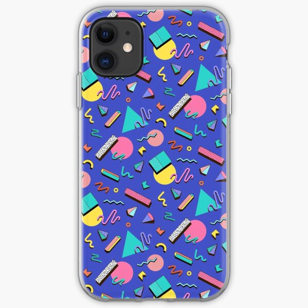 90s Pattern iPhone Soft Case