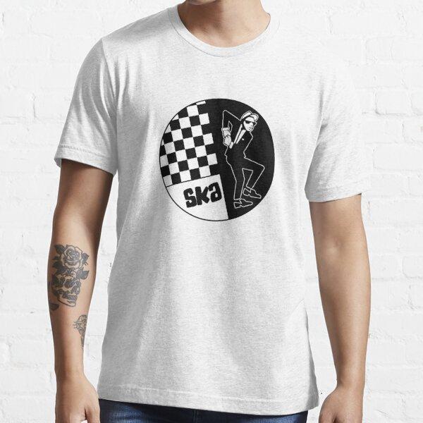 und der tanzende Ska-Mann, der gesehen wird Essential T-Shirt