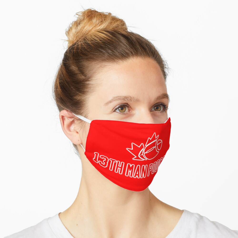 13th Man Red Collection Mask