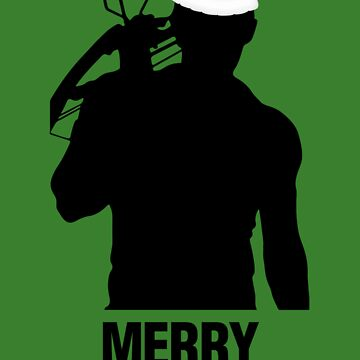 Daryl Dixon Christmas Design (Dark) by LM09