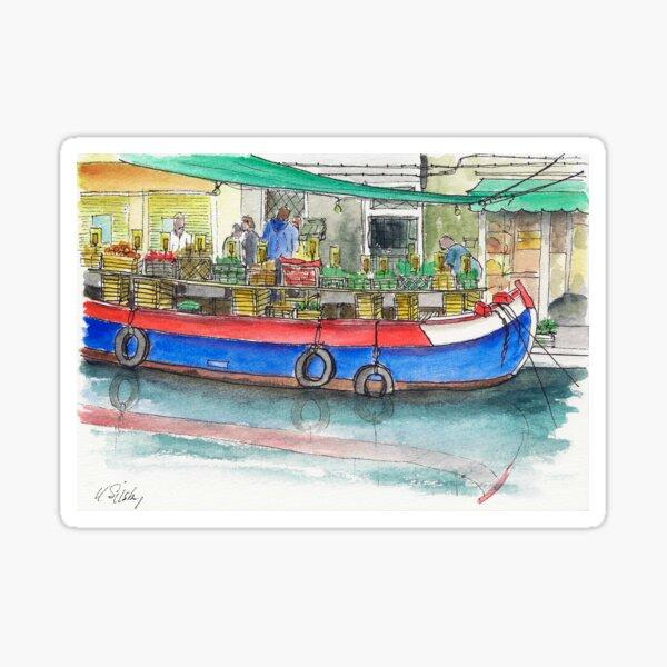 San Barnaba fruit and vegetable boat Sticker