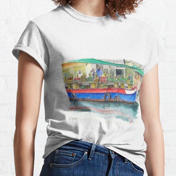 San Barnaba fruit and vegetable boat Classic T-Shirt