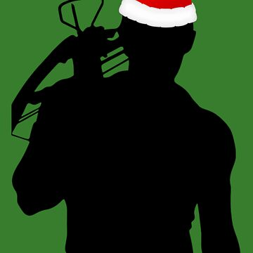 Daryl Dixon Textless Christmas Design (Dark) by LM09