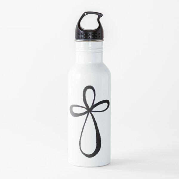 Cruz infinita Botella de agua