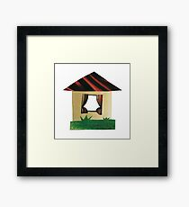 Rural house Framed Print
