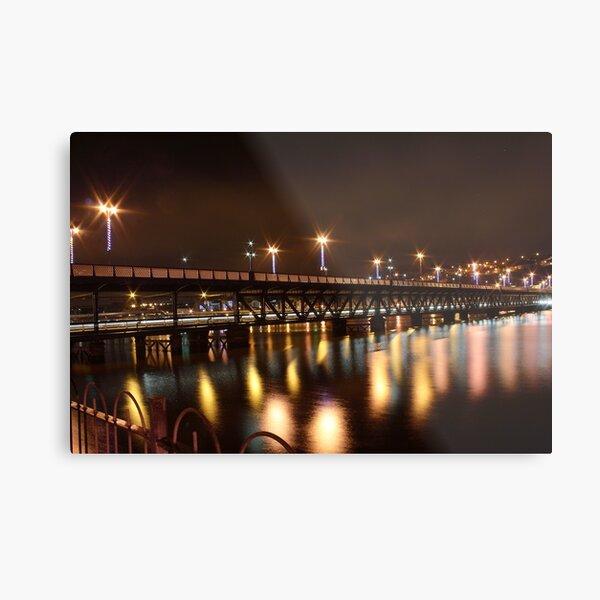 Craigavon Bridge, Derry Metal Print
