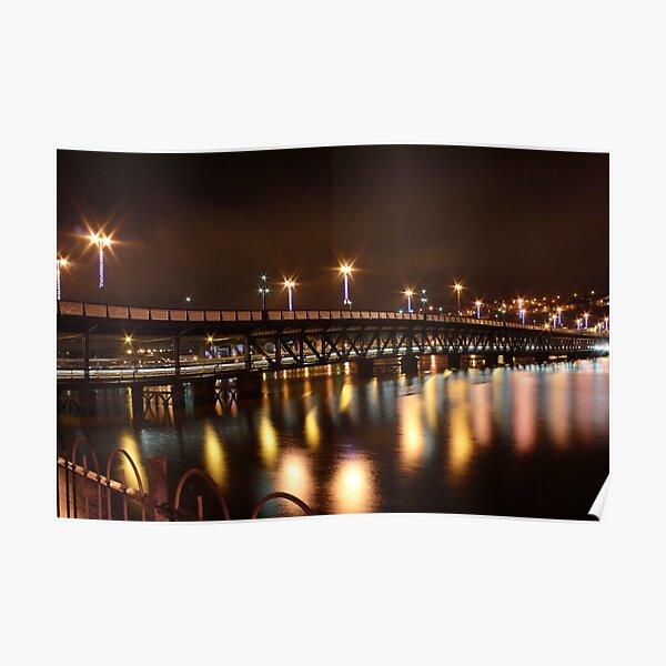 Craigavon Bridge, Derry Poster