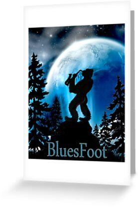 BluesFoot by Sybilla Irwin