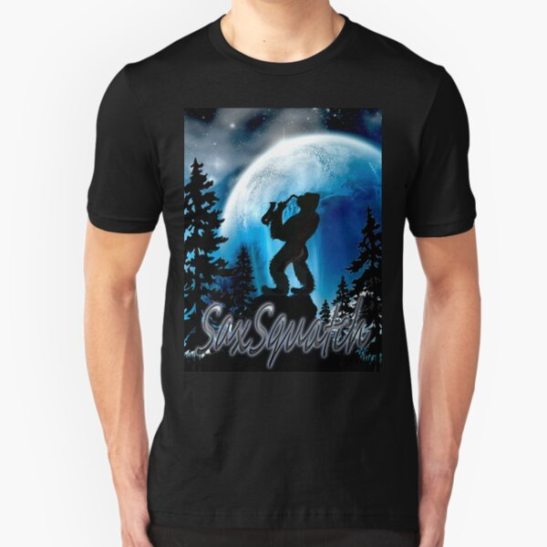 SaxSquatch Slim Fit T-Shirt