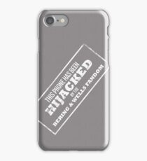 Hijacked by Feels - Dark Grey iPhone Case/Skin