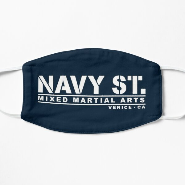 NAVY ST Flat Mask
