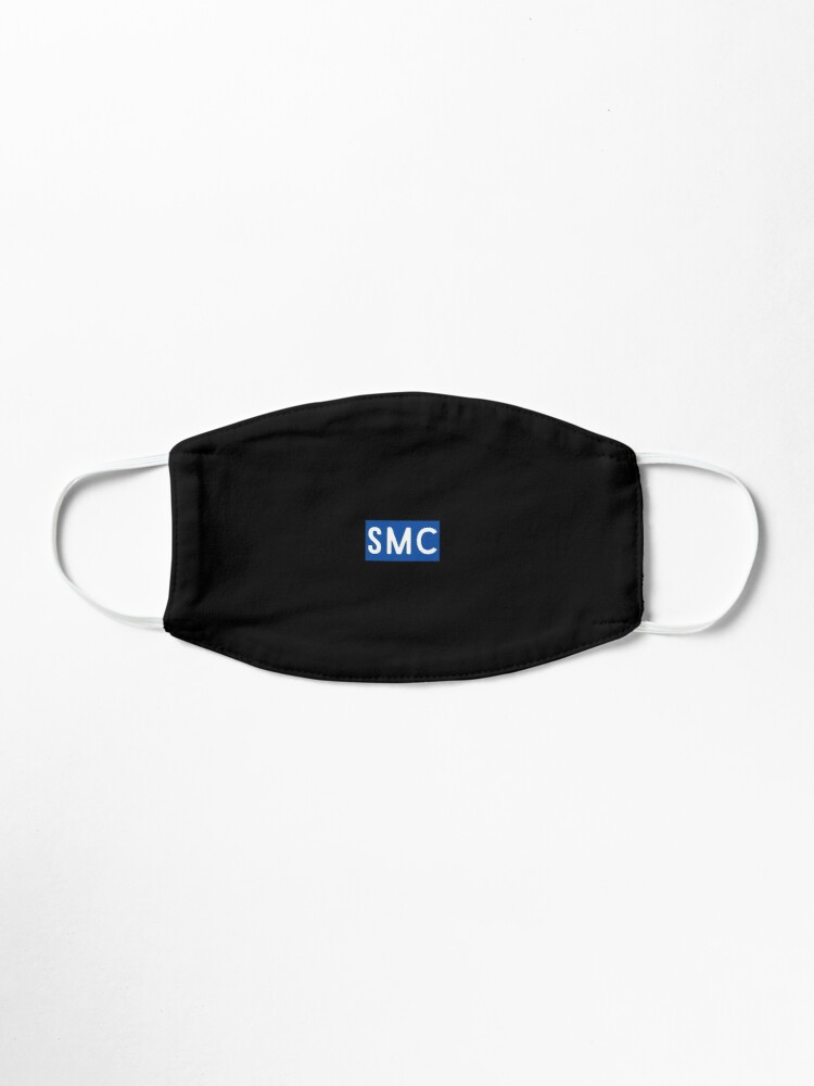 Alternate view of Santa Monica College Mask