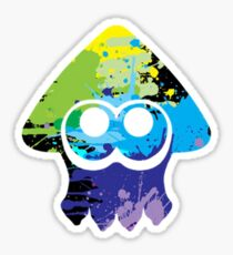 Splatoon multicolor Inkling Sticker