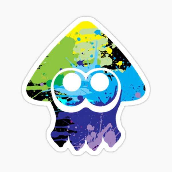 Splatoon multicolore Inkling Sticker