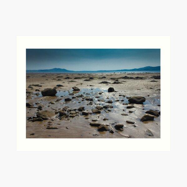 Buncrana Beach, Co Donegal Art Print