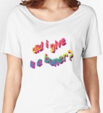 Did I Give U A Boner? Women's Relaxed Fit T-Shirt
