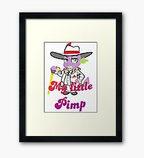 Spike the pimp Framed Print