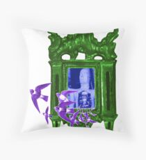Flyaway Heart by Julie the Bruce Throw Pillow