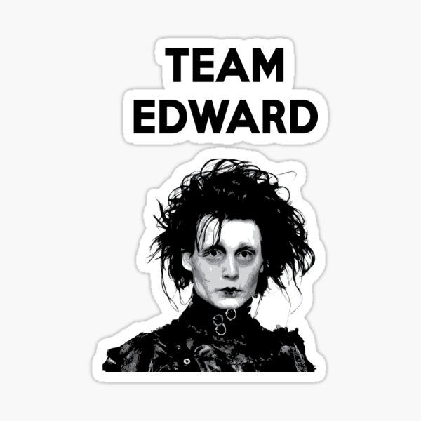 EDWARD SCISSORHANDS HAIR BOWS clip johnny depp tim burton goth punk emo scissors