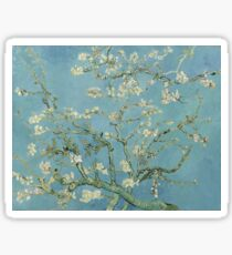 Almond blossom - Vincent Van Gogh  Impressionism  Famous Paintings Sticker