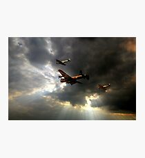 The Royal Air Force Battle of Britain Memorial Flight  Photographic Print