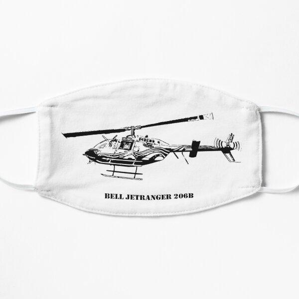 Bell JetRanger B206 - Black Flat Mask