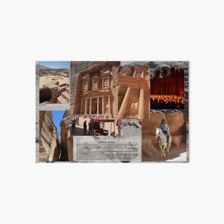 Al Khazneh in Petra, Jordan Art Board Print