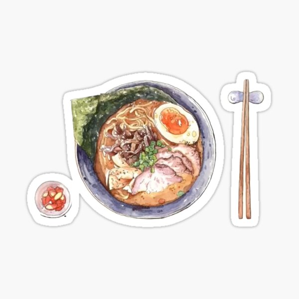 Japanese Ramen Sticker