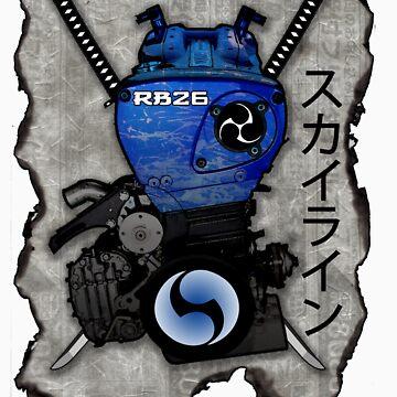 RB26  The Legend Engine by ArtGear