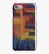 Multi-colored geometric case iPhone Case/Skin
