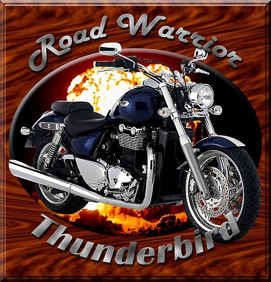 Triumph Thunderbird Road Warrior by hotcarshirts