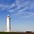 Into the Clouds - Kiama Lighthouse by Dilshara Hill