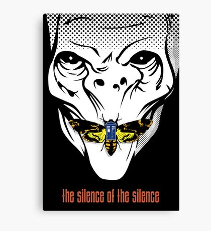 The silence of the Silence - Art Print Canvas Print