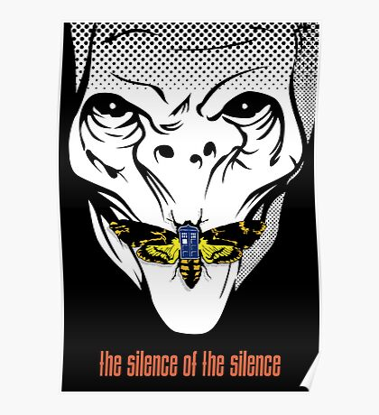 The silence of the Silence - Art Print Poster